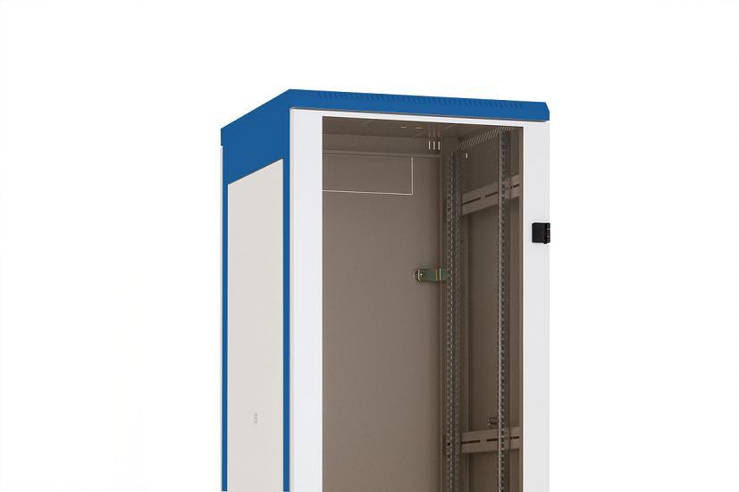 1 Stk Glas-Tür für DS/DSZ/DSS(IP30) 42HE, B=600, RAL7035 DSRT4263--