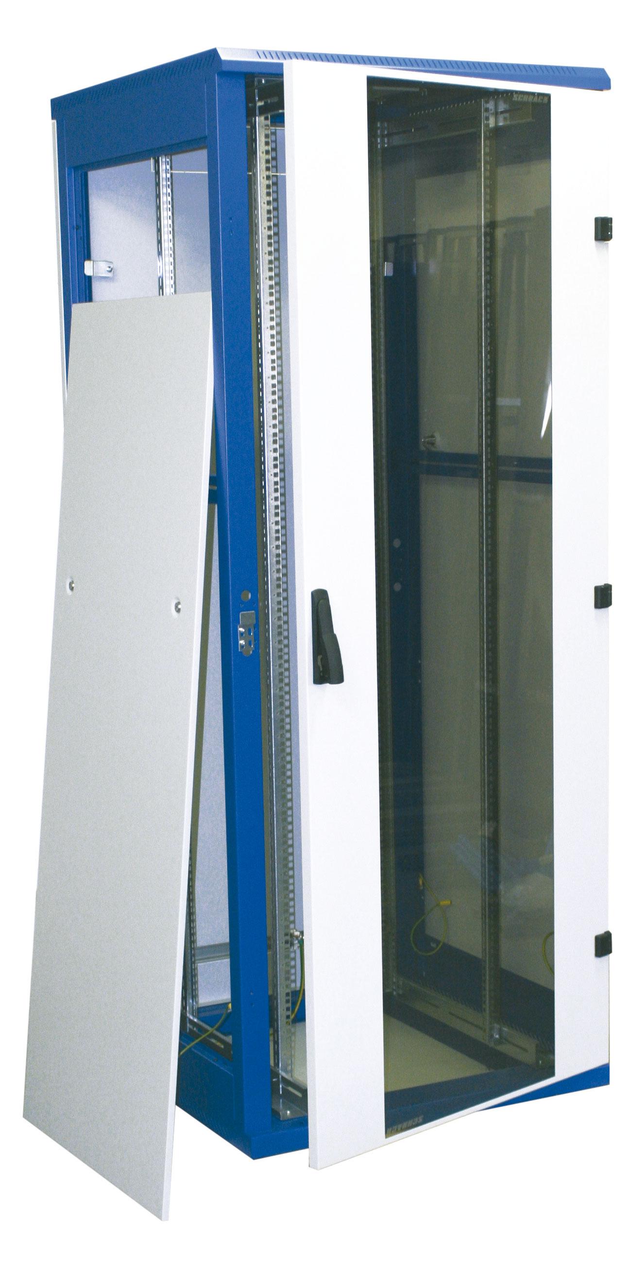1 Stk Netzwerk-Standschrank DSZ,zerlegbar,B800xH1970xT 800,1942HE DSZ428080-
