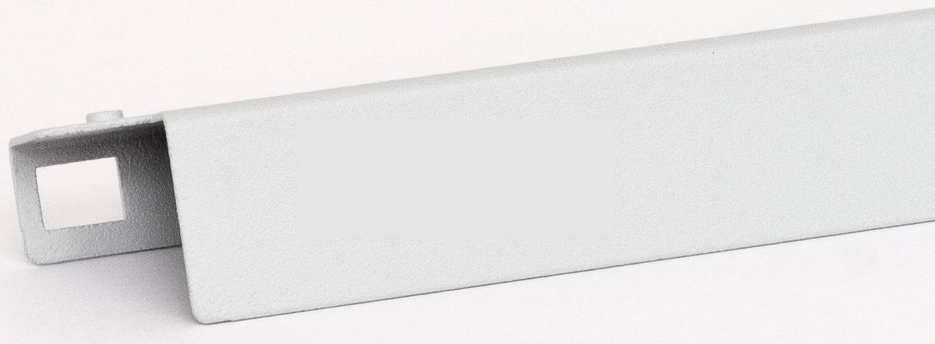 1 Stk 19 Montagehalter / Blende für Leuchte DV900337, 1HE,RAL7035 DV900338--