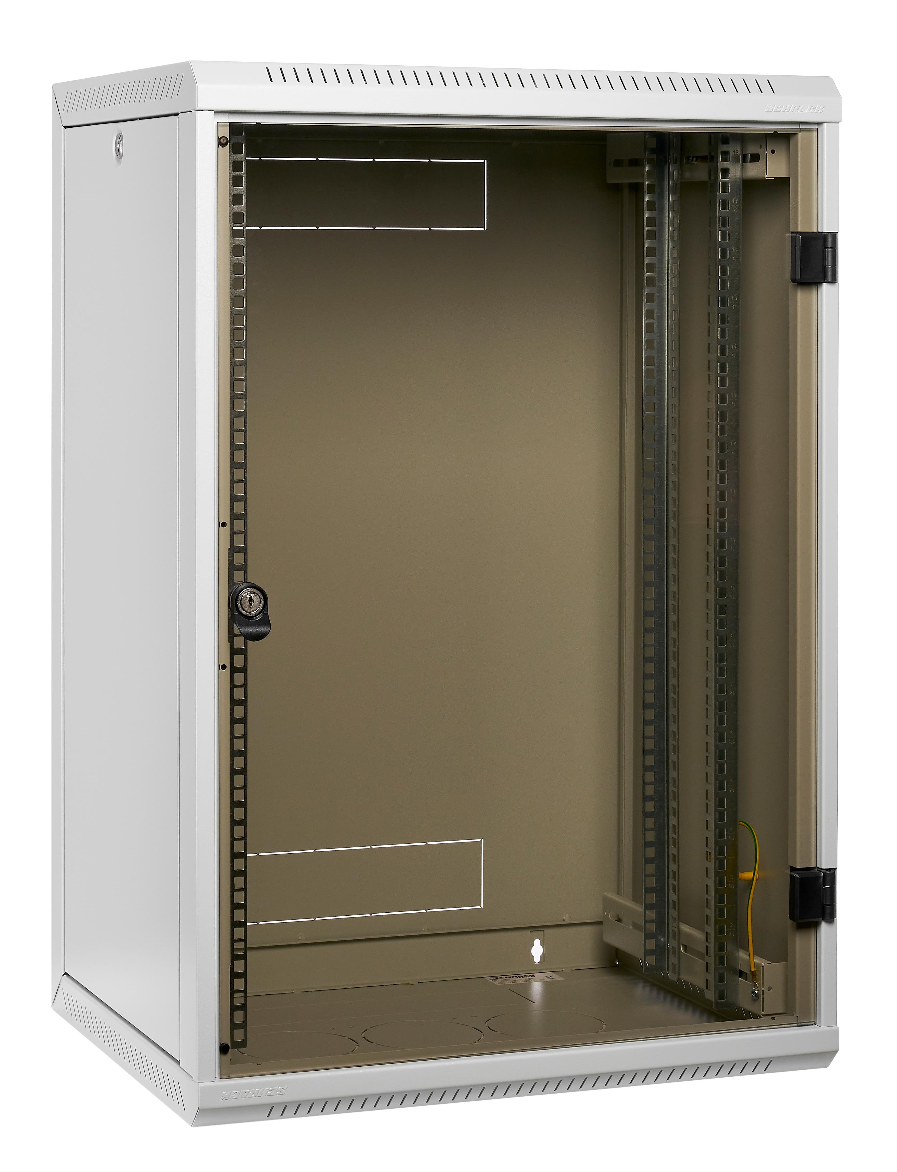 1 Stk Netzwerk-Wandschrank DW Monoblock, B600xH370xT495, 19, 6HE DW066050--