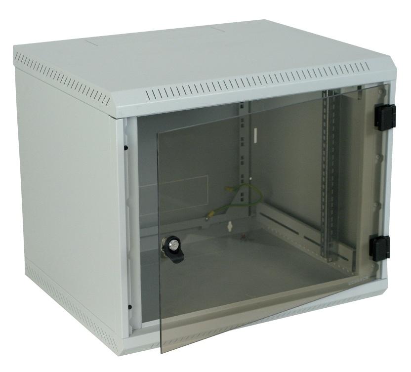 1 Stk Netzwerk-Wandschrank DW Monoblock, B600xH500xT395, 19, 9HE DW096040--