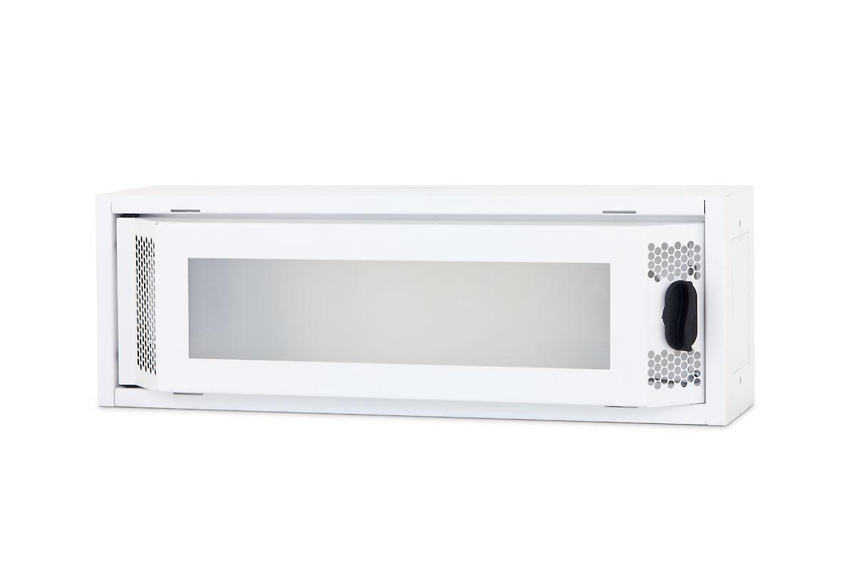 1 Stk Daten Heimverteiler, 1-reihig,  8xTOOLLESS, 1x230V, RAL9003 DW4HD108--