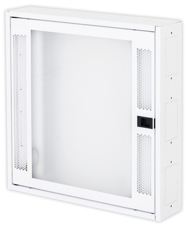 1 Stk Daten Heimverteiler, 3-reihig, 44xTOOLLESS, 4x230V, RAL9003 DW4HD344F-