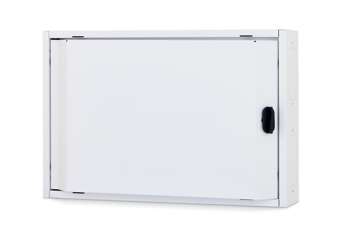 1 Stk Elektro Heimverteiler, 2-reihig, 44TE, 500x333x110mm,RAL9003 DW4HE222--