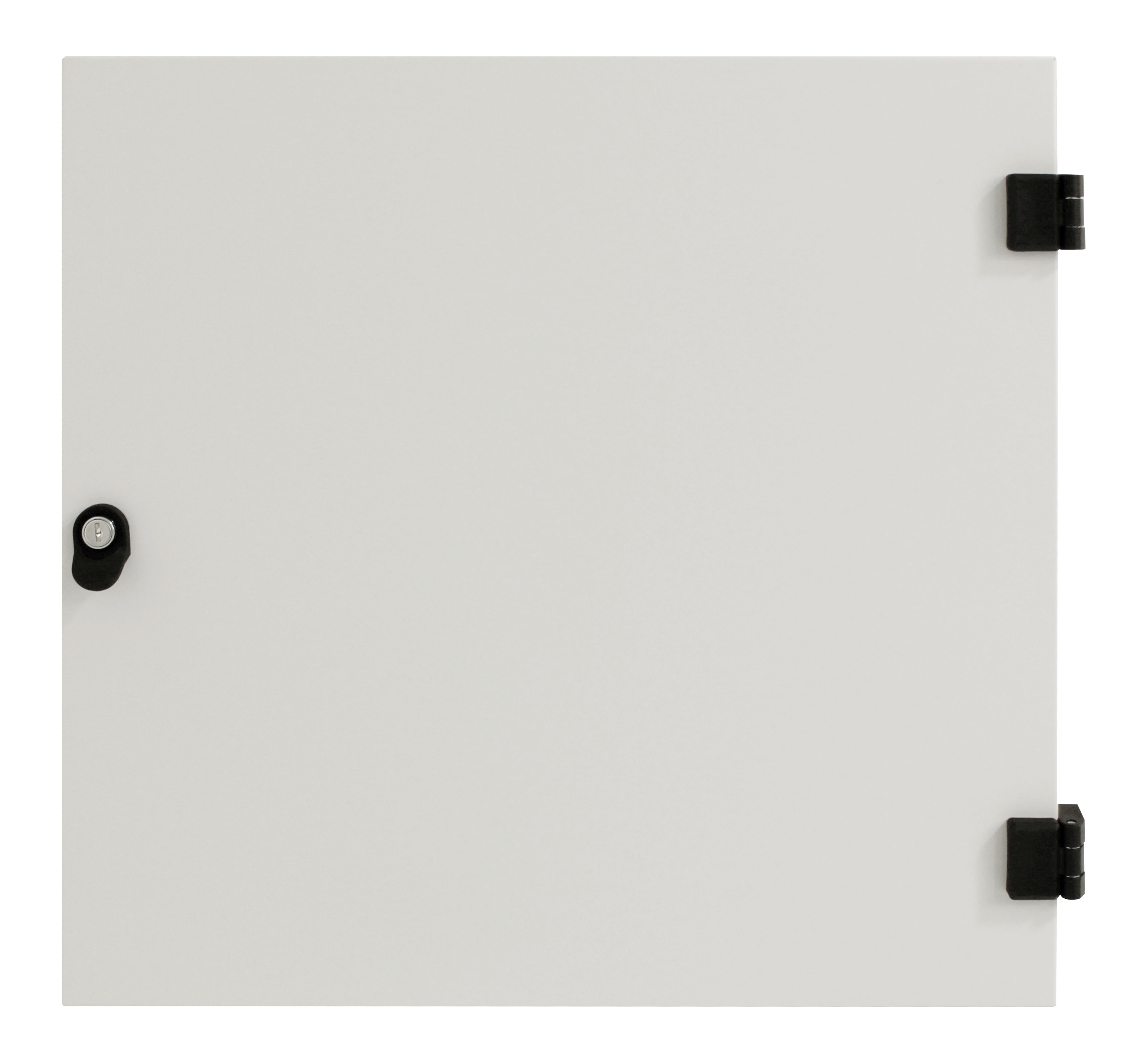 1 Stk Metall-Tür voll für DW-Schrank 6HE, B=600, RAL7035 DWRT0660--