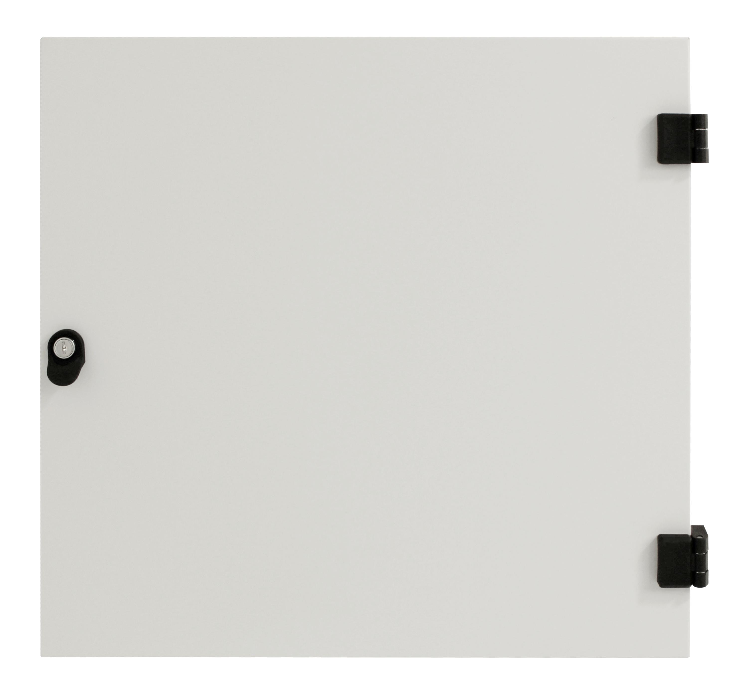 1 Stk Metall-Tür voll für DW-Schrank 18HE, B=600, RAL7035 DWRT1860--