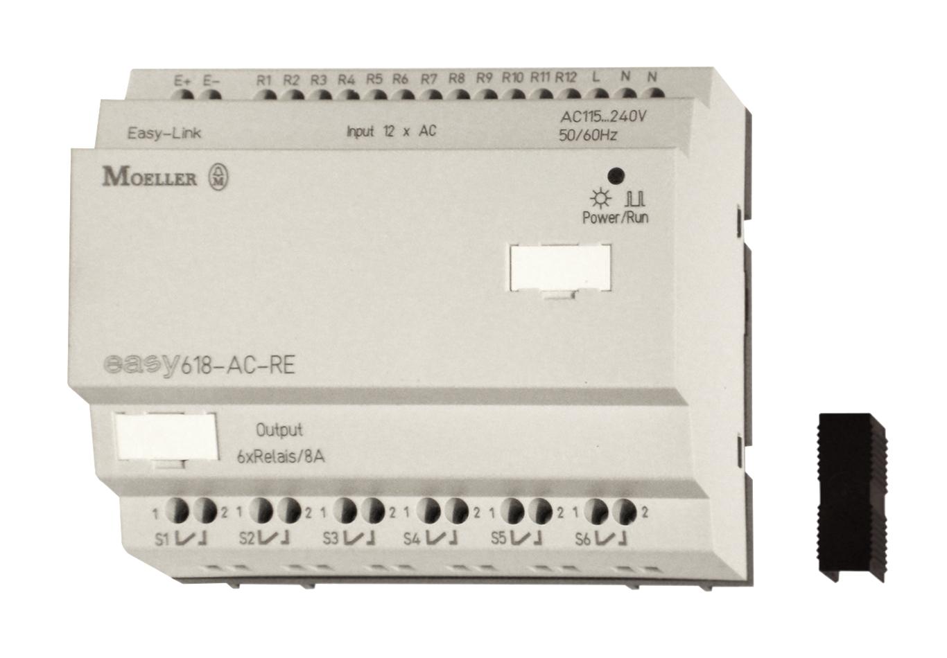 1 Stk EASY618ACRE-Relaiserweiterung 240VAC,10VA,12Ein-dig,6Aus-Rel EA212314--