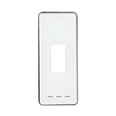1 Stk ekey Montagerahmen für FS Integra mit Glas weiß, Alarm-LEDs EK101802--