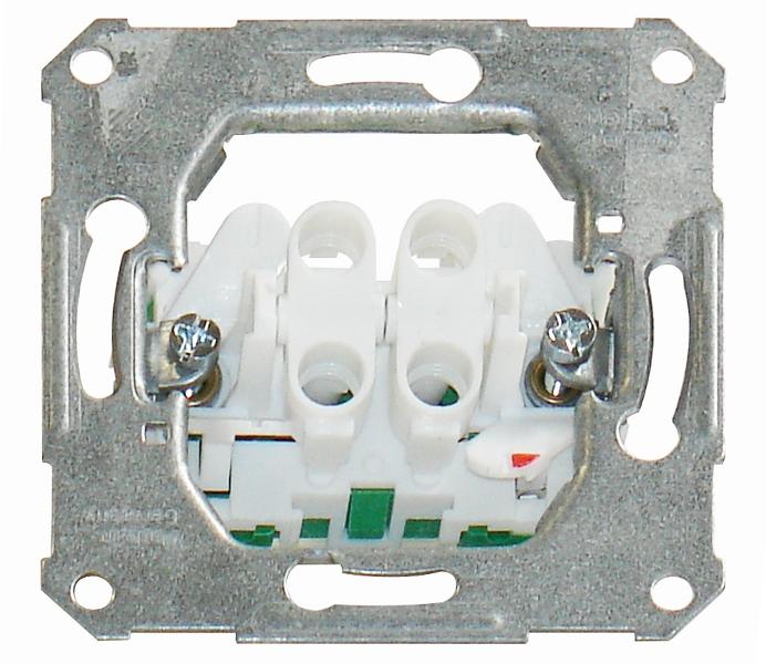 1 Stk UP-Einsatz Serienschalter Steckklemmen EL111500--
