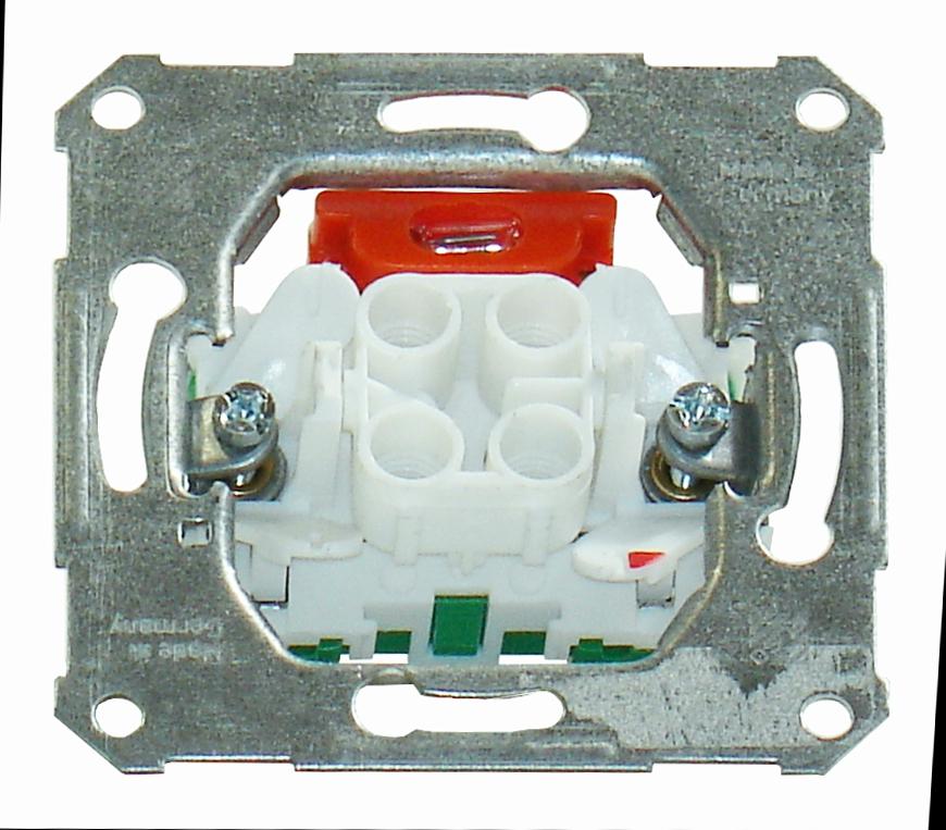 1 Stk UP-Einsatz Wechselkontrollschalter Steckklemmen EL111610--