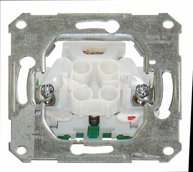 1 Stk UP-Taster mit Leuchtmarkierungsbaugruppe Steckklemmen EL112610--