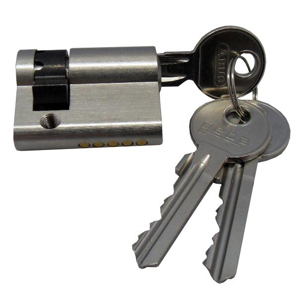 1 Stk Profil-Halbzylinder für Schlüsselschalter EL123000--