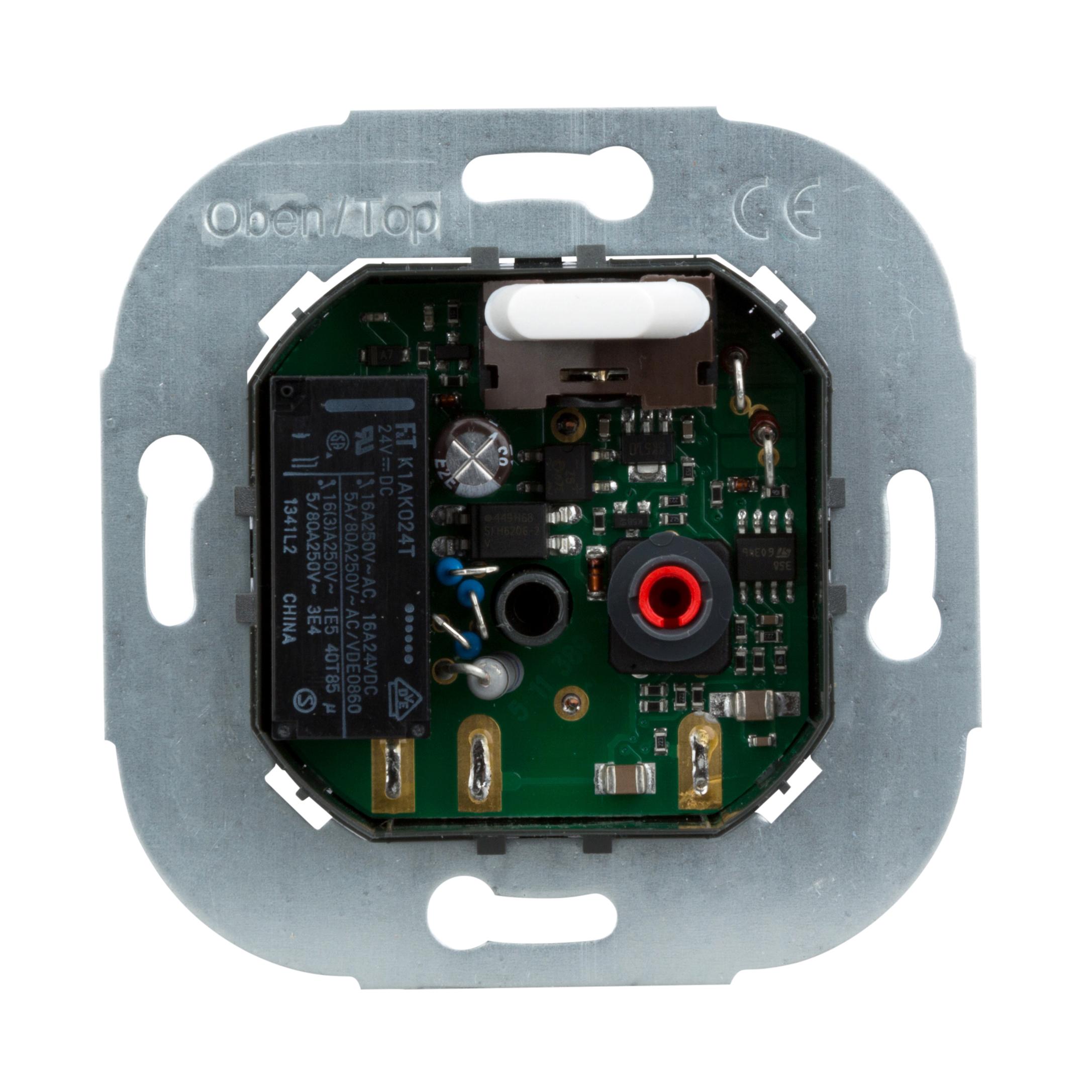1 Stk Fußbodentemperaturregler-Einsatz mit Schalter und Fernfühler EL176131--