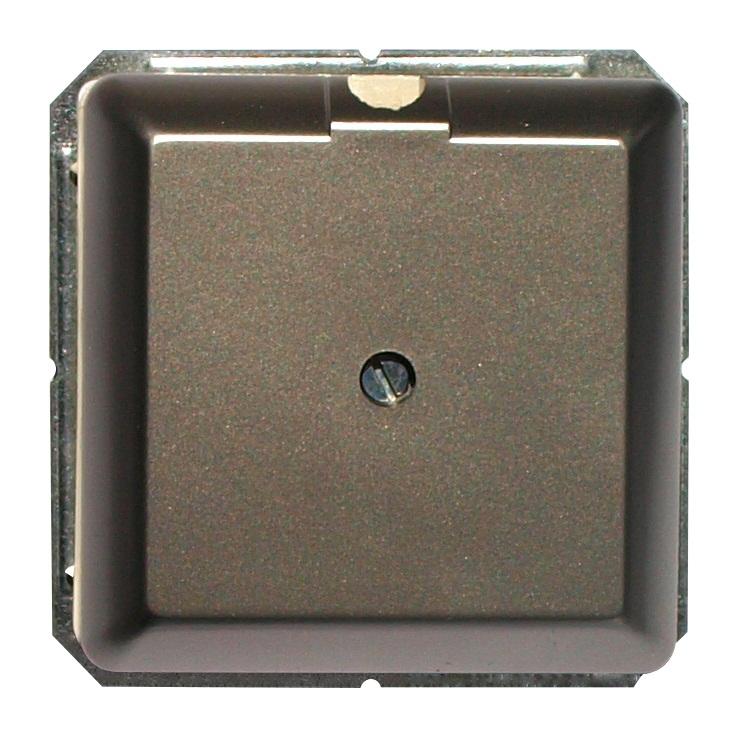 1 Stk Anschlussdose für Kabel bis 8mm, Edelstahleffekt EL2030211-