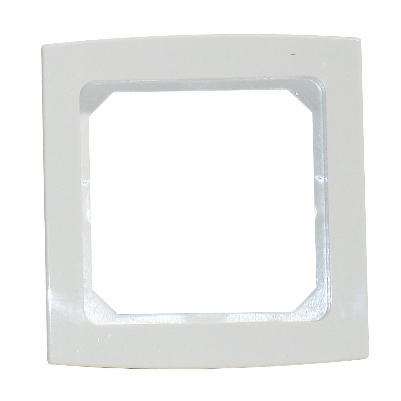 1 Stk Rahmen 1-fach, perlweiß Riva EL204120--