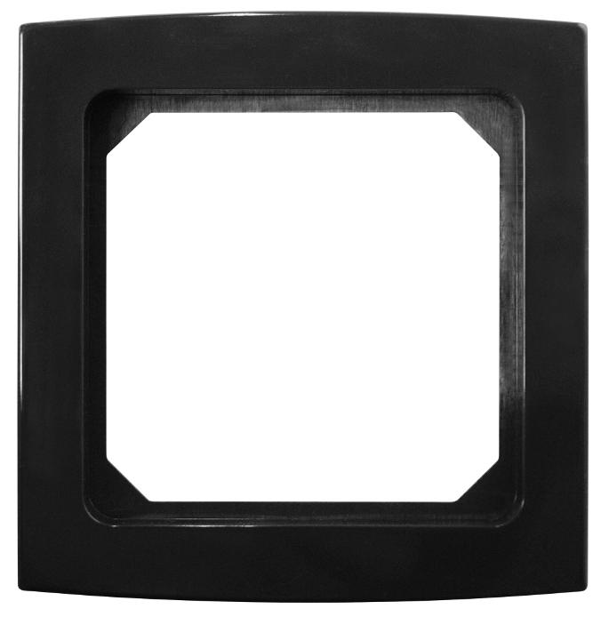 1 Stk Rahmen 1-fach, anthrazitgrau Riva EL2041231-
