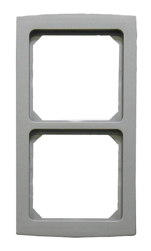 1 Stk Rahmen 2-fach, Alueffekt Riva EL2042219-