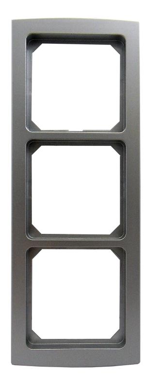 1 Stk Rahmen 3-fach, Alueffekt Riva EL2043219-