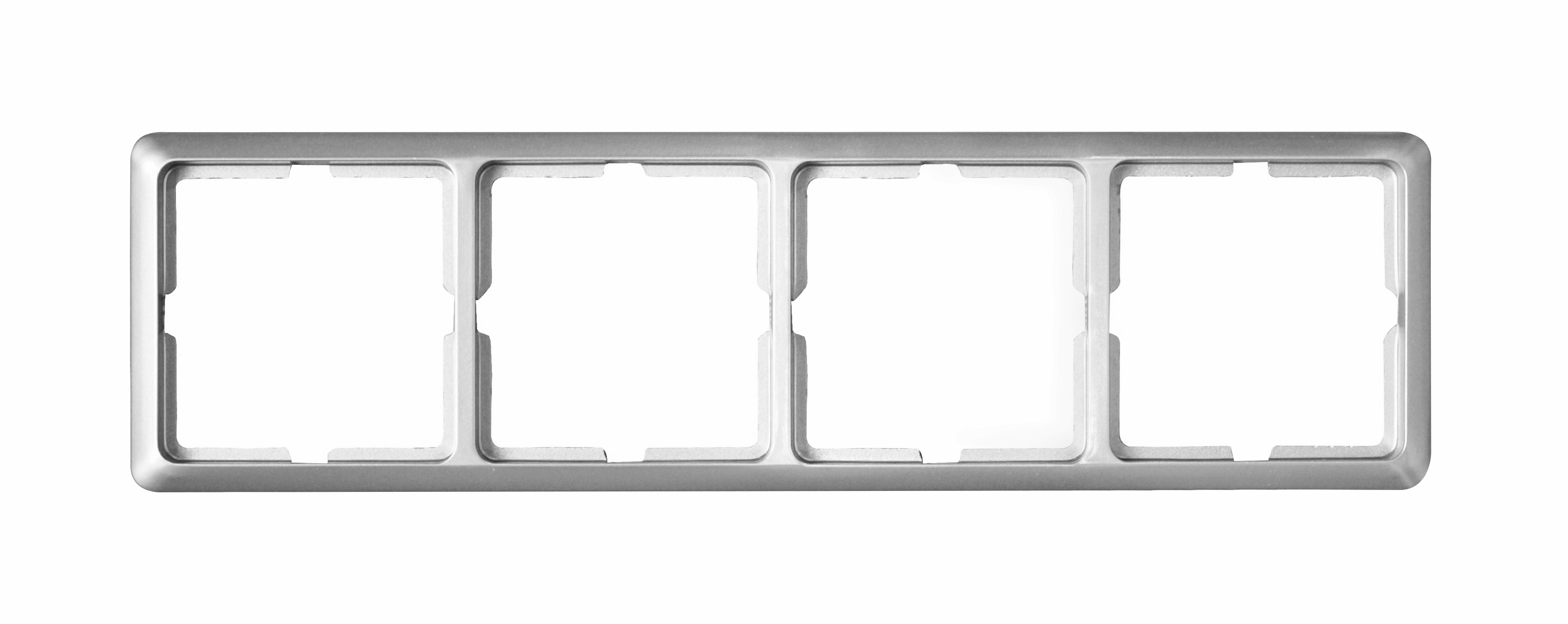 1 Stk Rahmen 4-fach, Alueffekt Scala EL2044119-