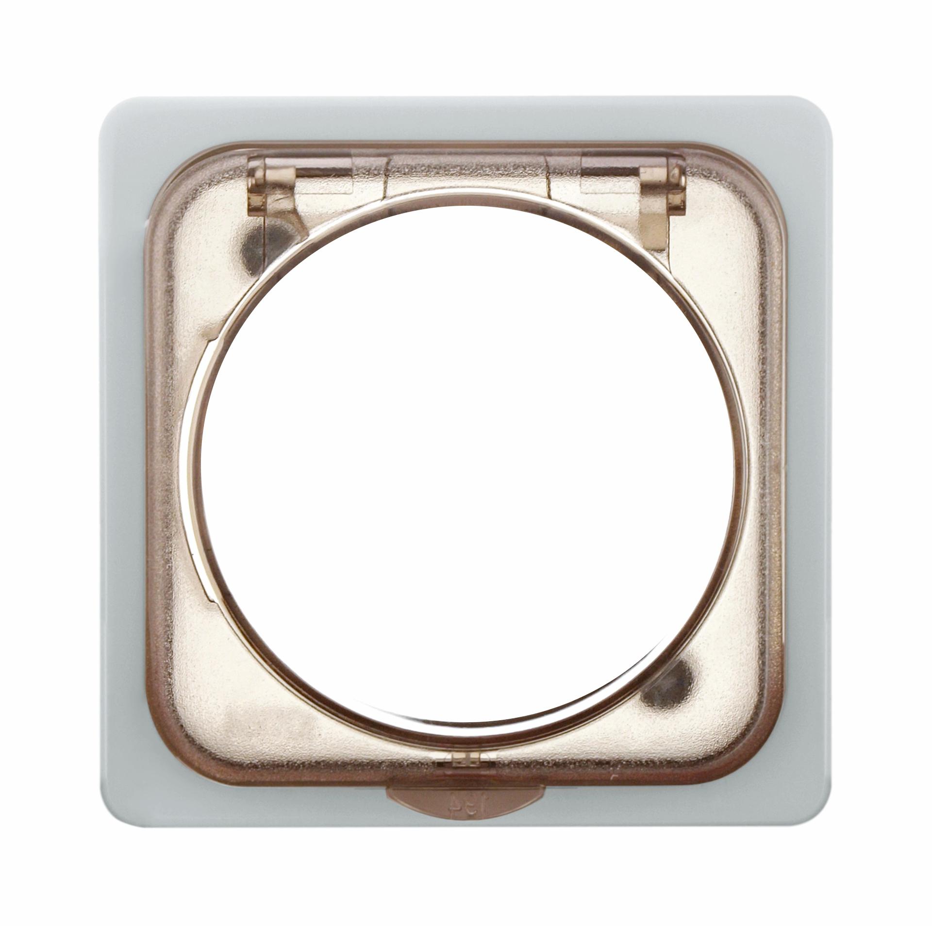 1 Stk Zentralplatte für Tag-/Wochen-Zeitschaltuhr, reinweiß EL207214--