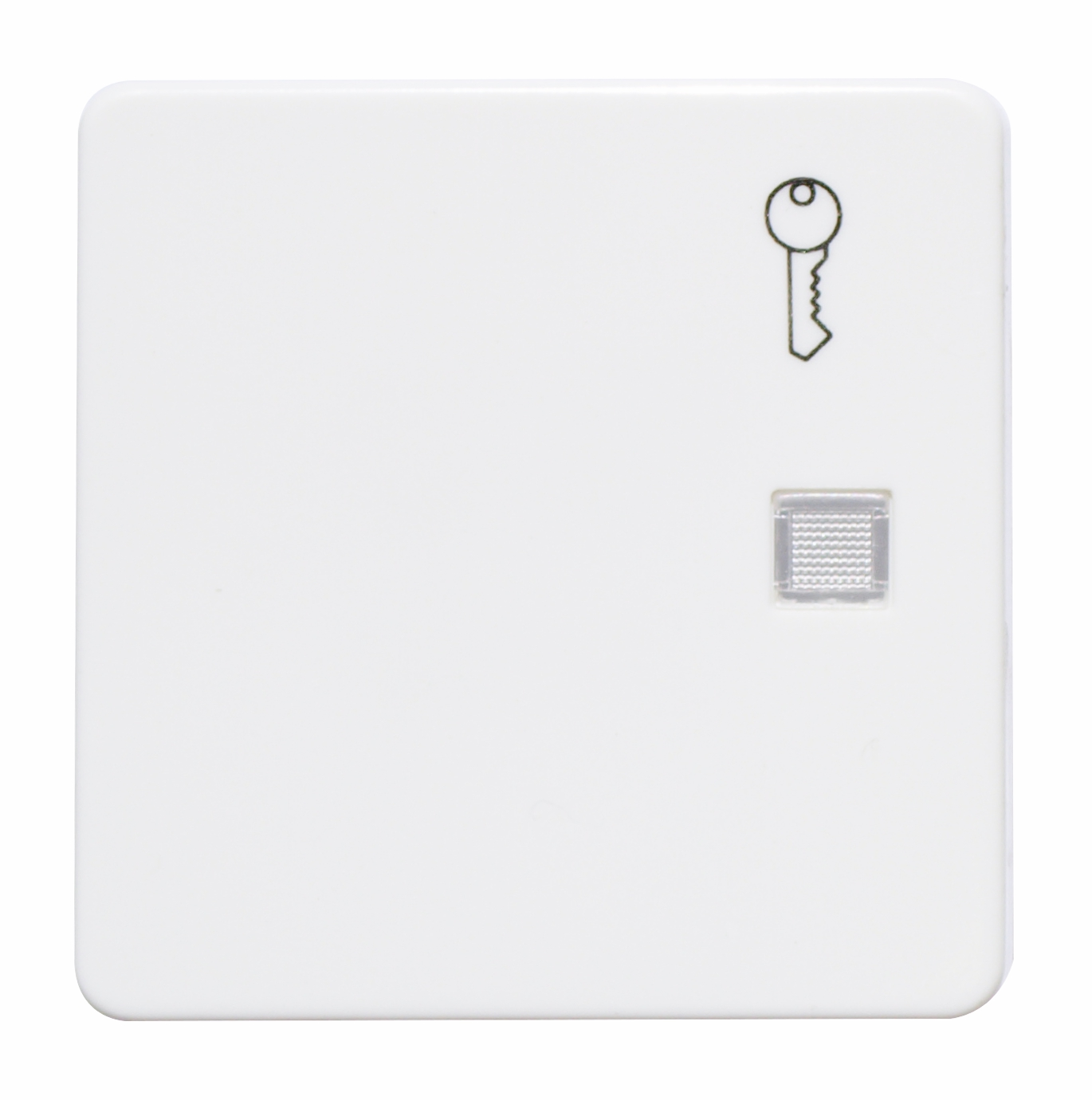 1 Stk Wippe beleuchtet mit Symbol Schlüssel reinweiß EL213164--