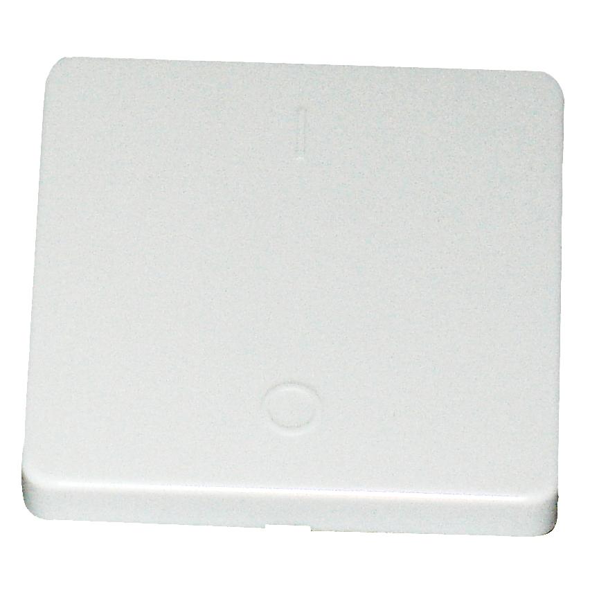 1 Stk Wippe für Ausschalter 2-polig, reinweiß EL213204--