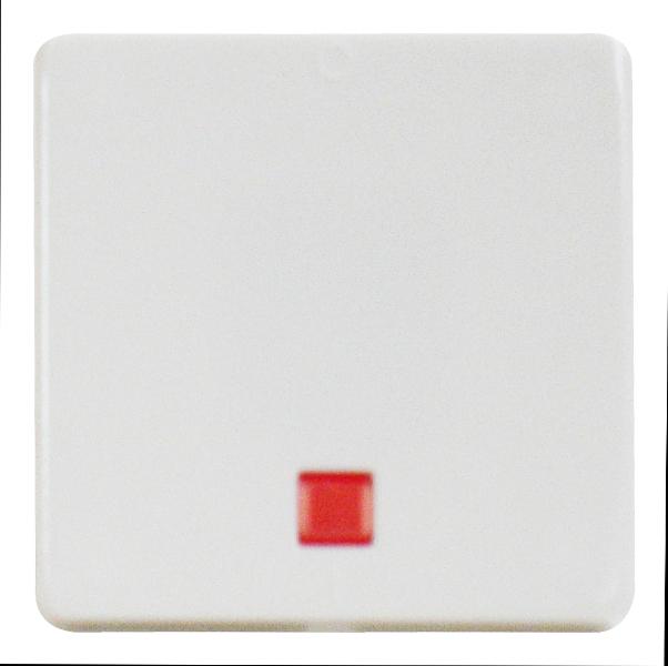 1 Stk Wippe für Ausschalter 2-polig beleuchtet, reinweiß EL213214--