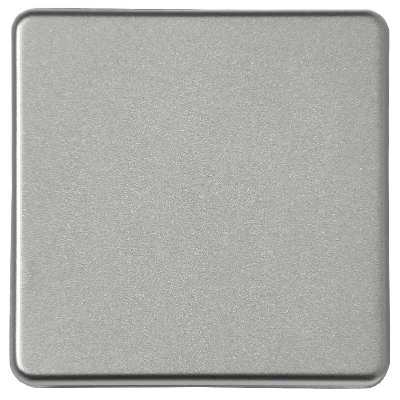 1 Stk Wippe für Schalter und Taster, Edelstahleffekt EL2136011-