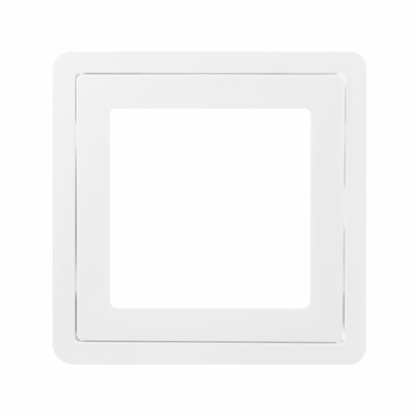 1 Stk Zentralplatte für LED-Signaleinsatz,  F/S/R, reinweiß EL227054--