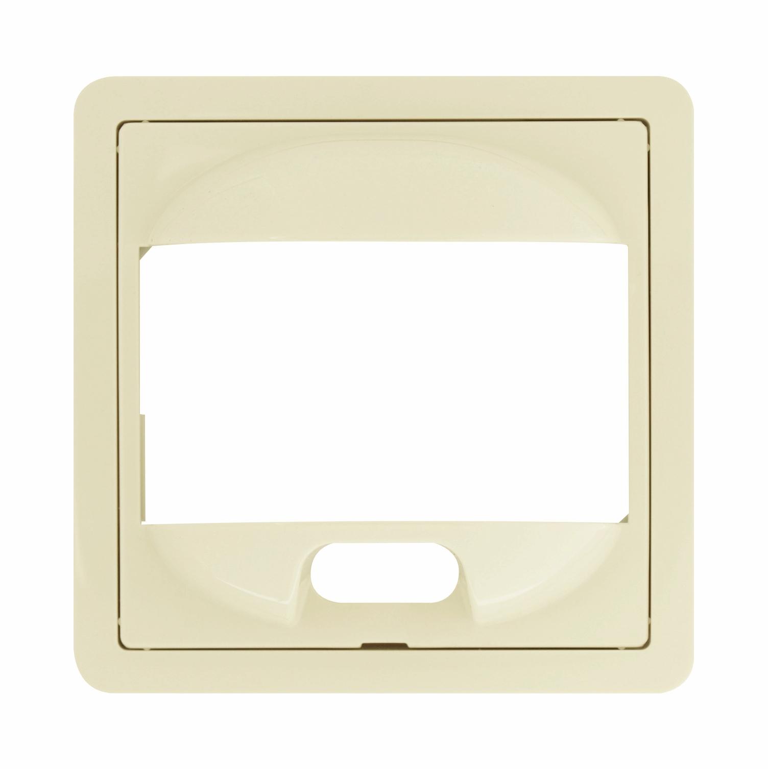 1 Stk Zentralplatte für PIR-Bewegungsmelder, F/S/R, perlweiß EL227080--