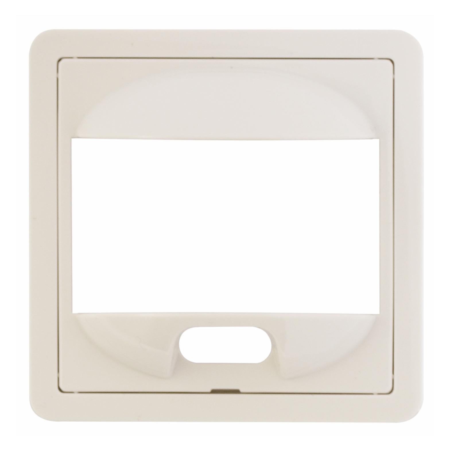 1 Stk Zentralplatte für PIR-Bewegungsmelder, F/S/R, reinweiß EL227084--
