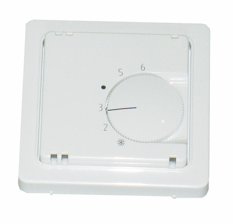 1 Stk Zentralplatte für Temperaturregler, reinweiß EL227104--