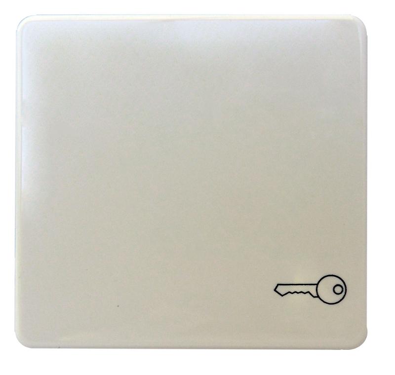 1 Stk Wippe mit Symbol Schlüssel perlweiß EL233120--