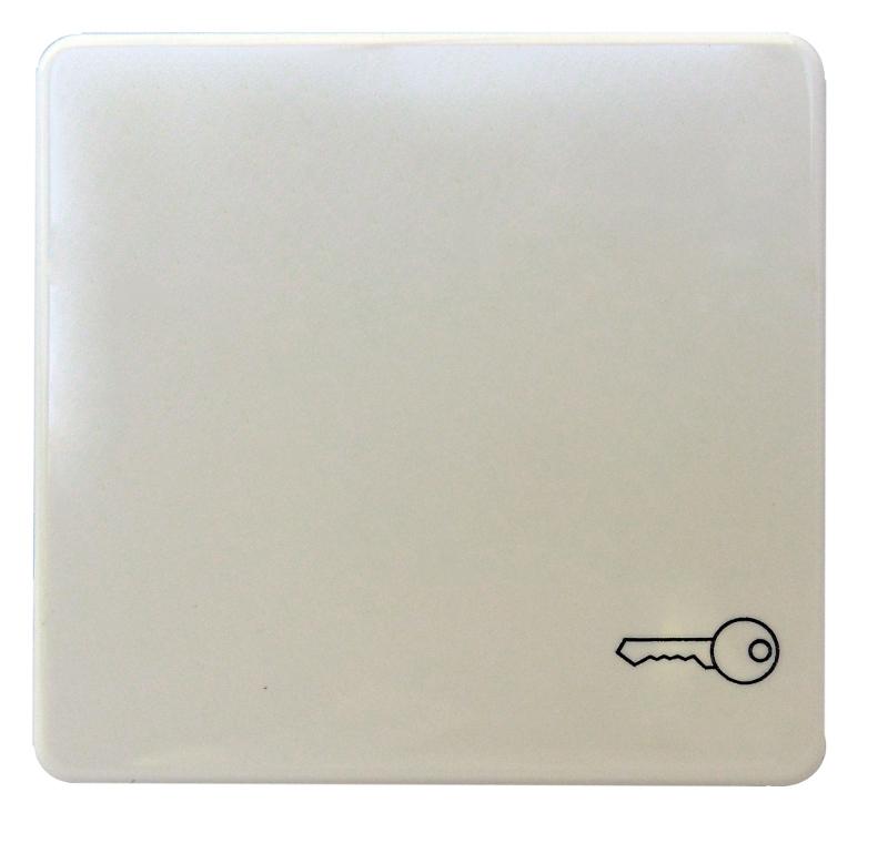 1 Stk Wippe mit Symbol Schlüssel reinweiß EL233124--