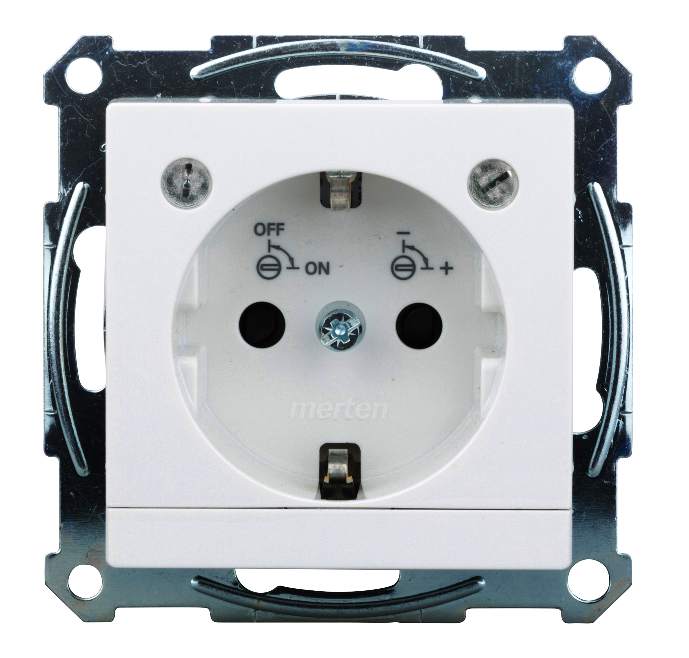1 Stk SCHUKO-Steckdose mit Lichtauslass und LED-Beleuchtungs-Modul EL265304--