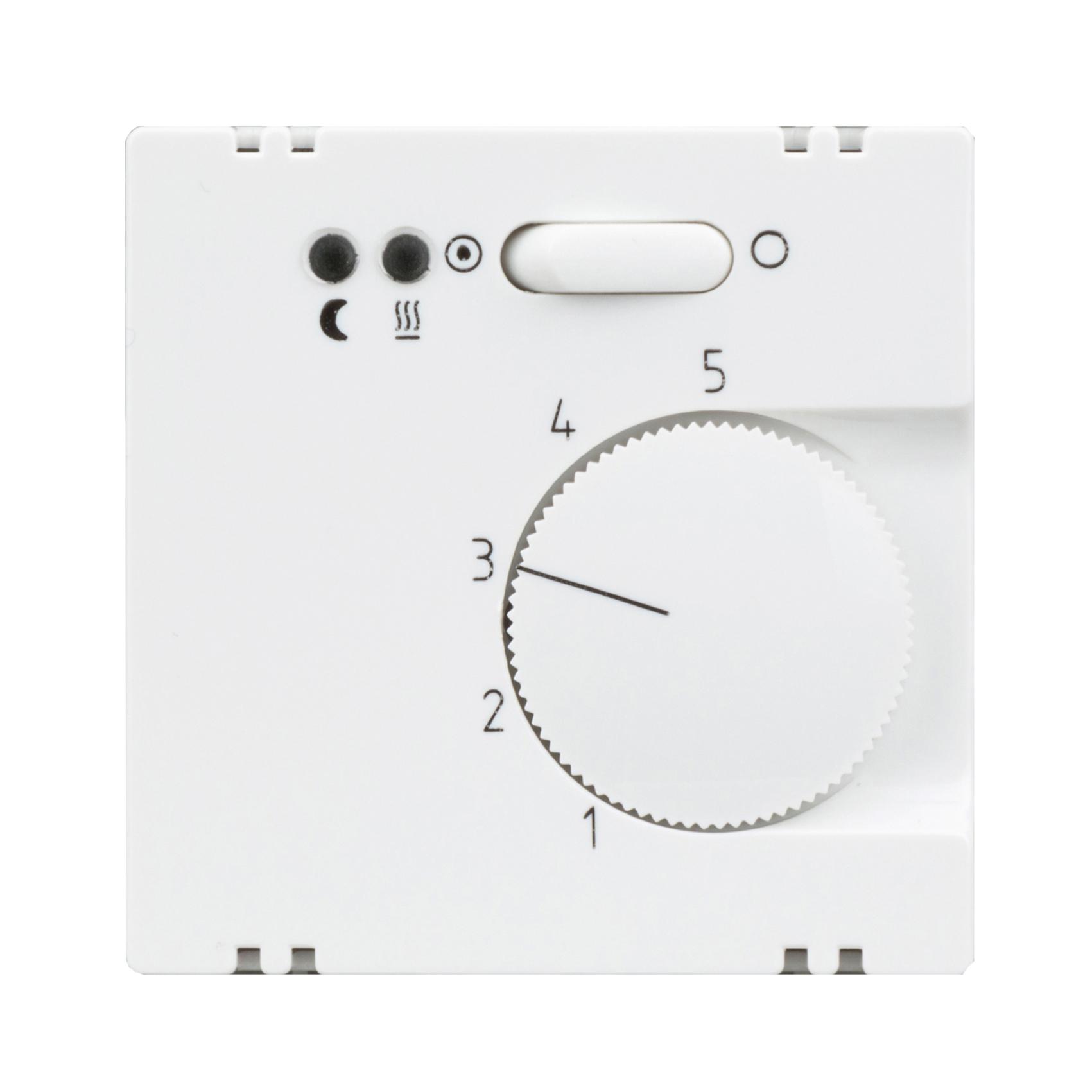 1 Stk Zentralplatte für Fußbodentemperaturregler-Einsatz  EL367204--
