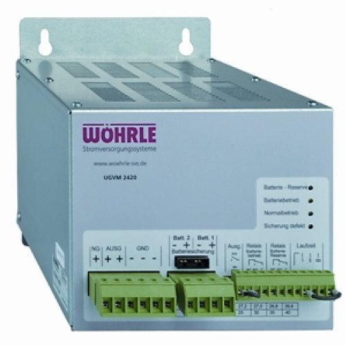 1 Stk Unterbrechungsfreie Gleichstromversorgung/UGSV 26VDC/20A EL735230--