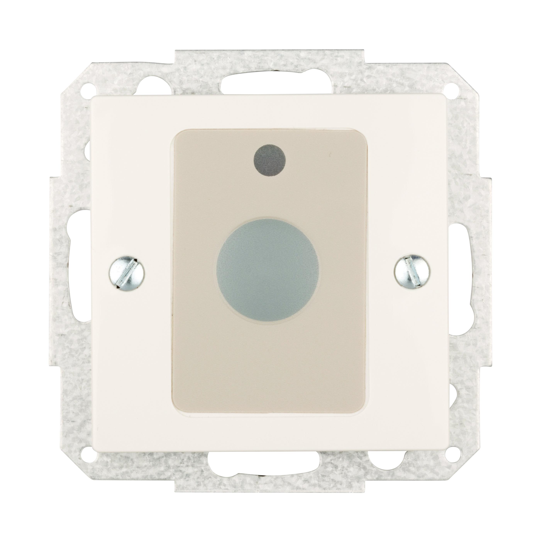 1 Stk Abstelltaster mit Zentralplatte VISIO, reinweiß EL740164--