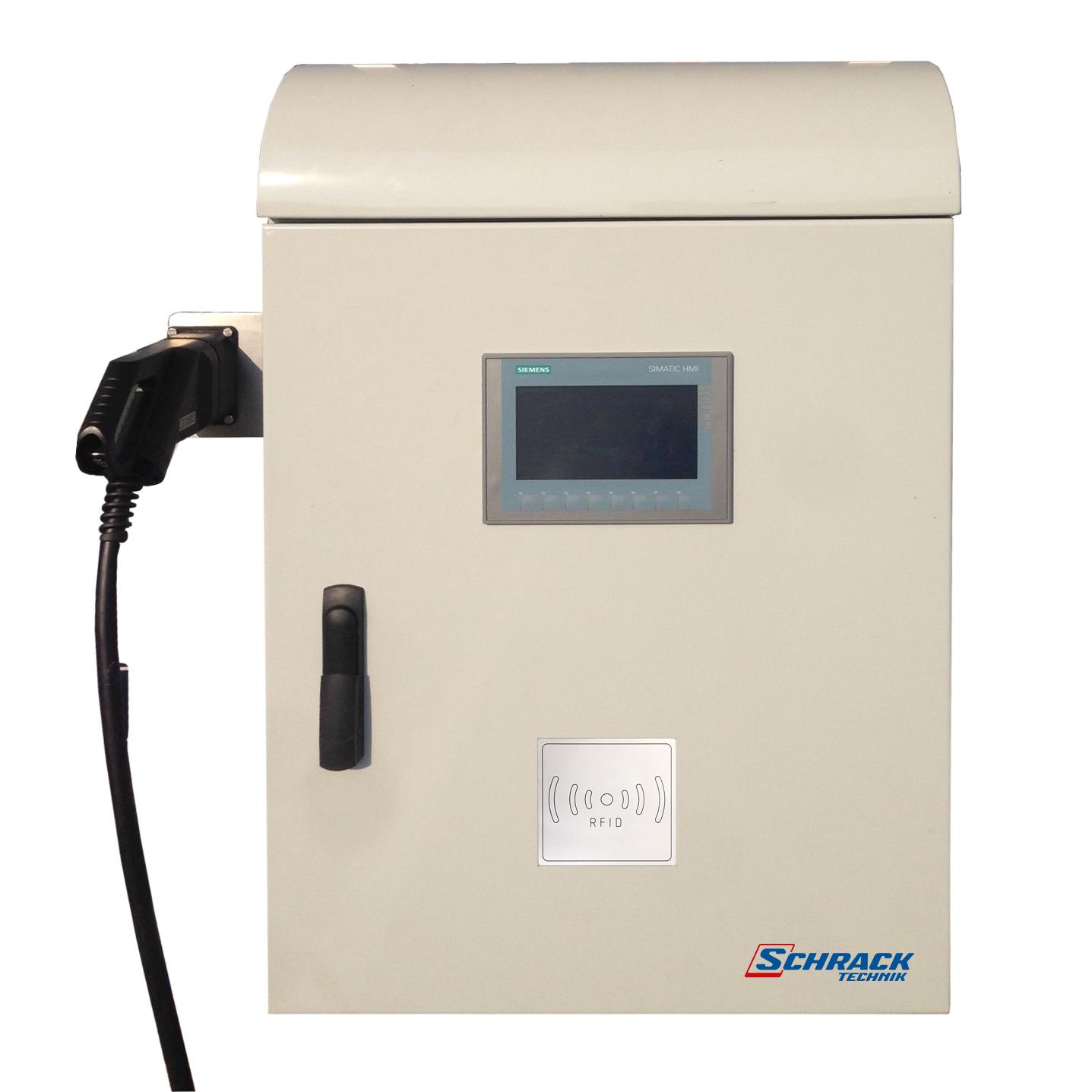 1 Stk Schnellladestation, CHAdeMO, 20kW, Farbbildschirm EMDCM020--