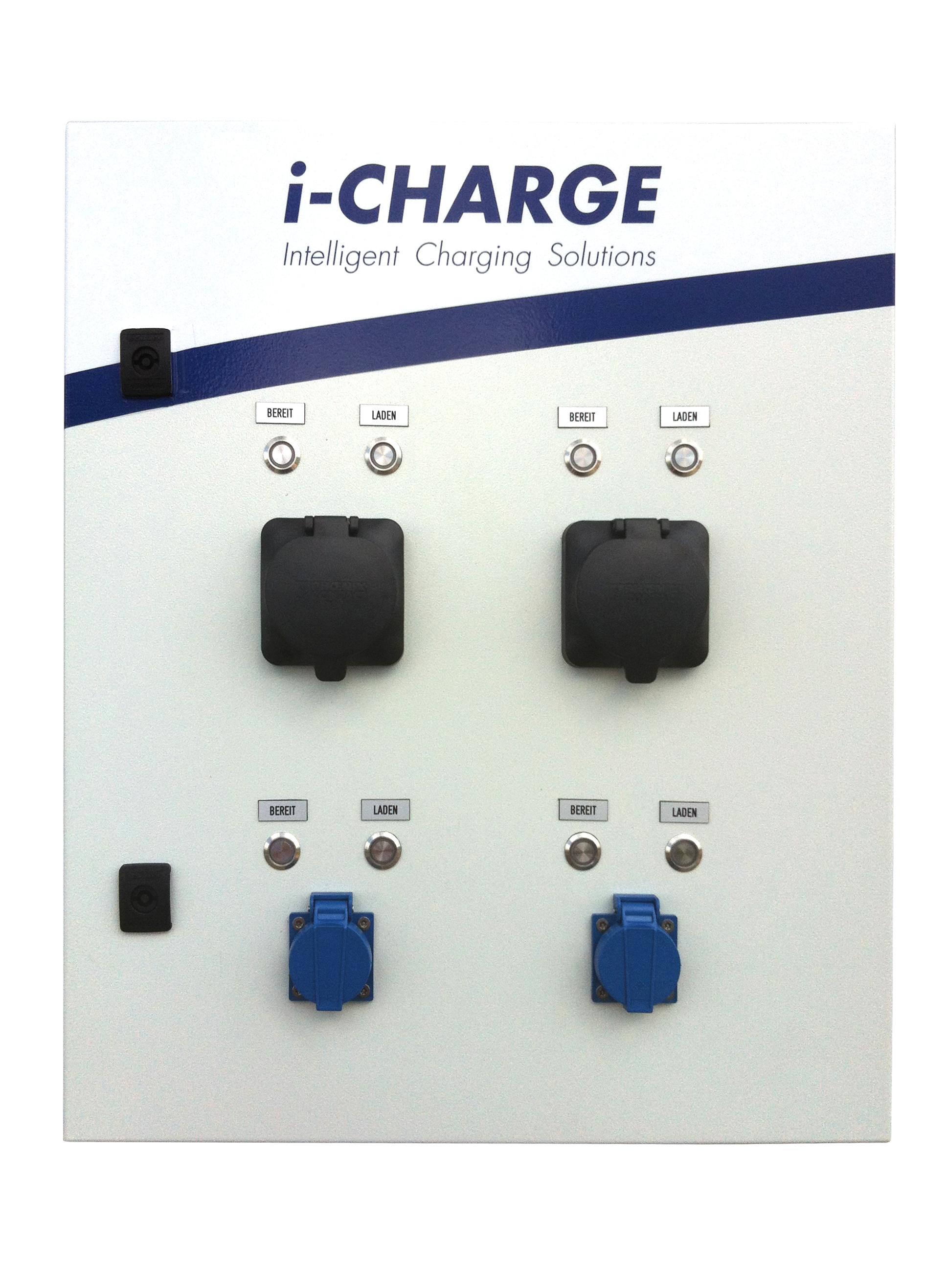 1 Stk i-CHARGE PUBLIC Wall 2x Typ2 11kW, 2xSchuko 3,7kW EMPUBW48--