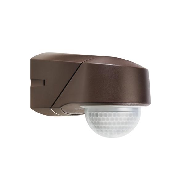 1 Stk RC 280i Infrarot Bewegungsmelder Aufputz IP54, braun ESM015816-