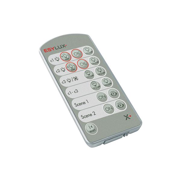1 Stk Mobil-PDi/User universale Endanwender-Fernbedienung, silber ESM425547-