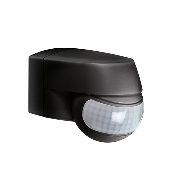 1 Stk MD 200 Bewegungsmelder Aufputz 200° IP44, schwarz ESS000004-