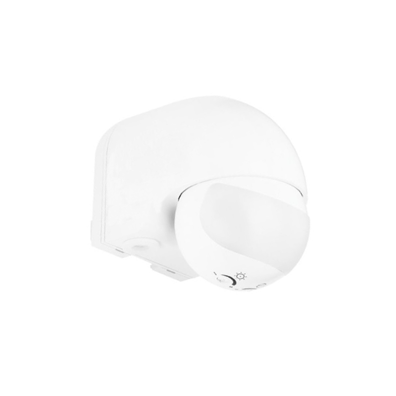 1 Stk Motus MS-W 180°,12m, IP44,weiß, Bewegungsmelder, Wandmontage ESS10180W-