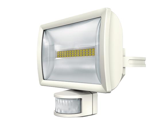 1 Stk LED Strahler mit Bewegungsmelder, 20 Watt/180°/12m, weiß EST1020913