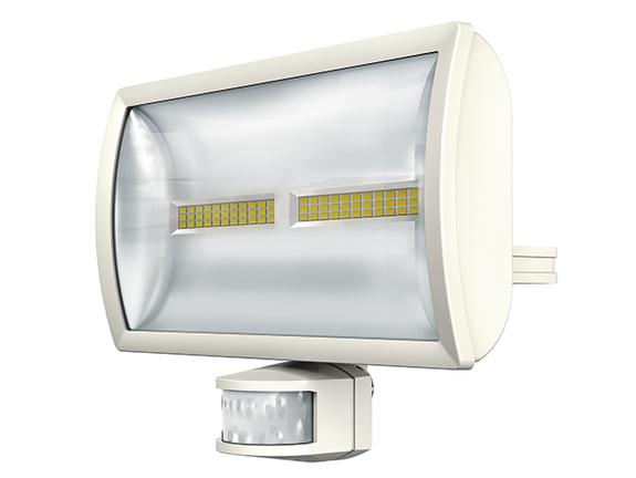 1 Stk LED Strahler mit Bewegungsmelder, 30 Watt/180°/12m, weiß EST1020915