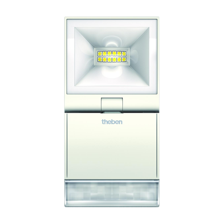 1 Stk LED Strahler mit Bewegungsmelder, 10W/180°/10m, weiß EST1020921