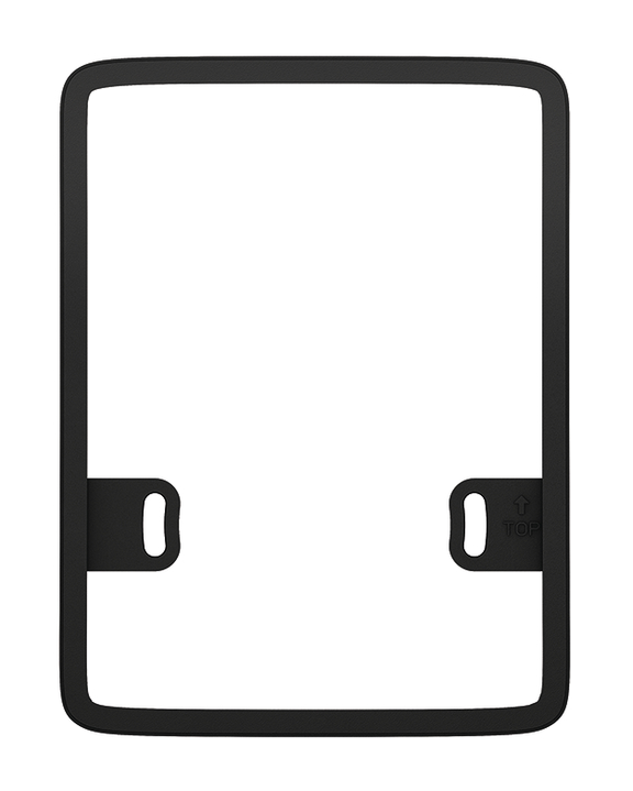 1 Stk Abstandsrahmen theLuxa P, schwarz EST9070909