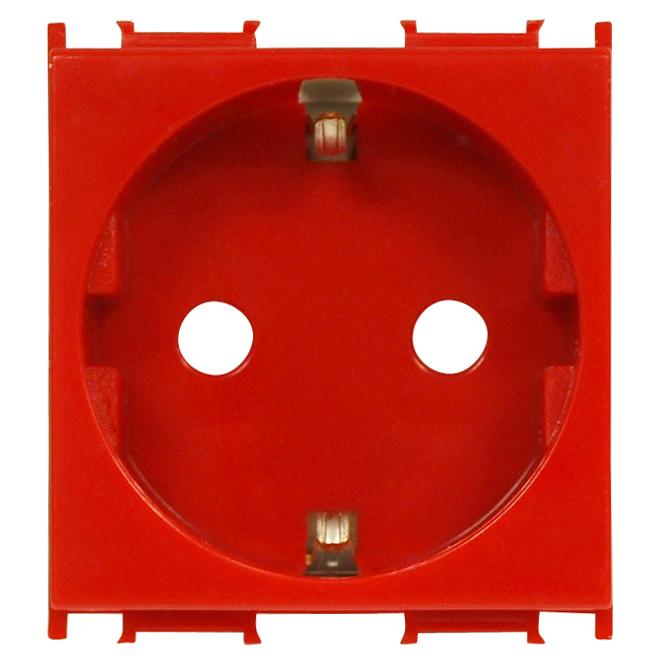 1 Stk Steckdose mit erhöhtem Berührungsschutz rot 16A ET101003--