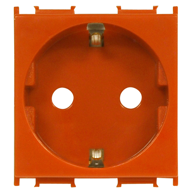 1 Stk Steckdose mit erhöhtem Berührungsschutz orange 16A ET101004--